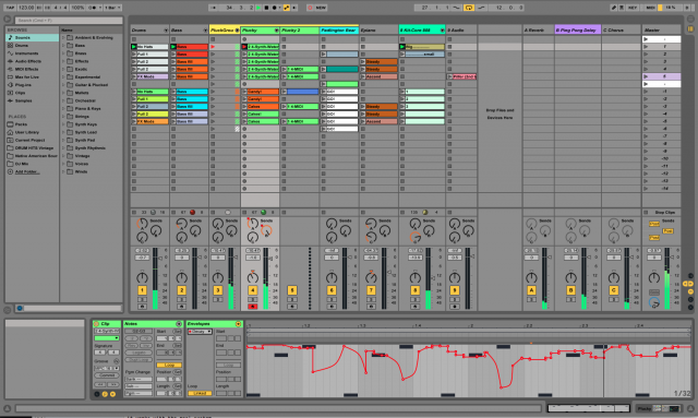 Ableton live new interface