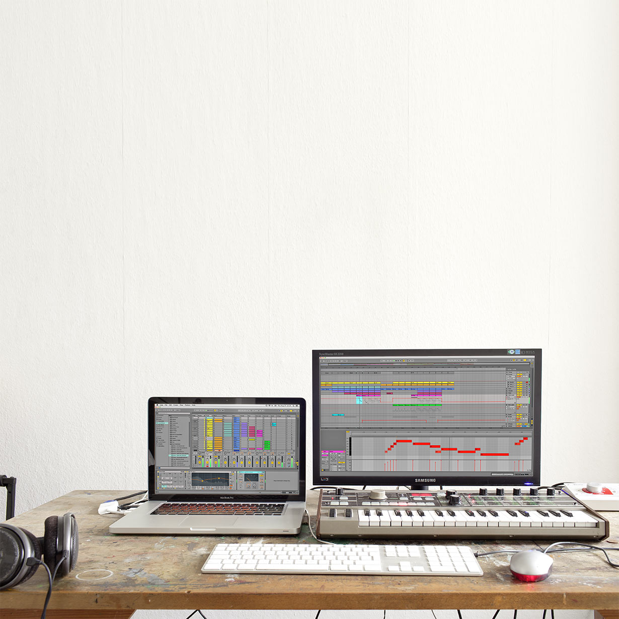ableton live dual monitors