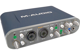 M-audio-Fast-track-pro