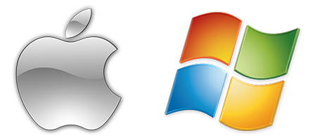 Windows Apple Logos