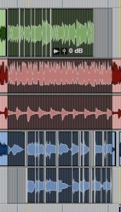 clip grouping in pro tools 3