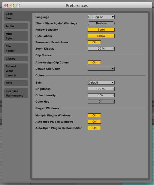 Rescan Ableton Live Plugins