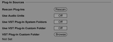 Rescan Ableton Live Plugins - OBEDIA | Music Recording