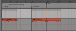 Adding Locators and Time Signature Changes in Ableton Live
