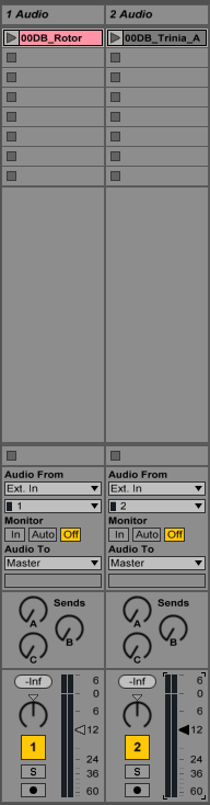 How to create headphone mixes in Ableton Live using analog outputs of an interface