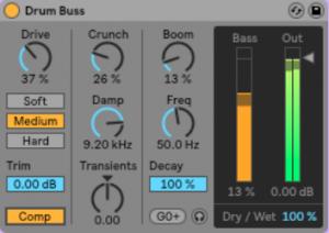 Ableton Live 10 Drum Buss
