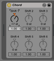 How to use the CHORD MIDI Effect in Ableton Live