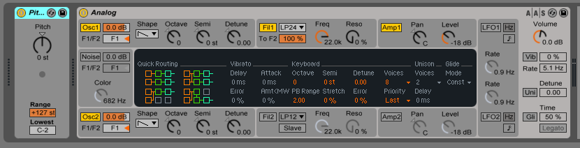 How to use the PITCH MIDI effect in Ableton Live - Ableton