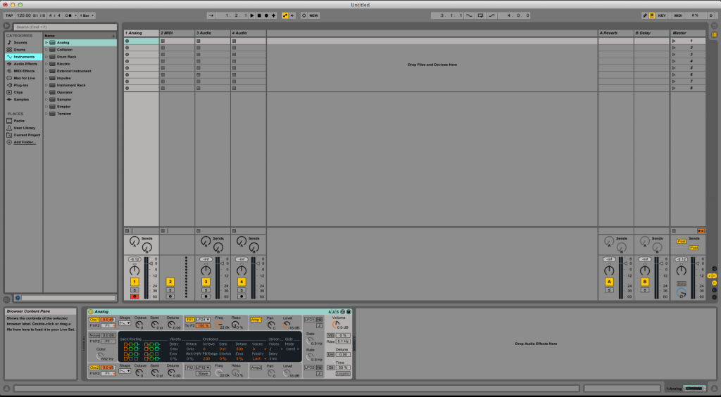 How to use the Ableton Live LIMITER audio effect