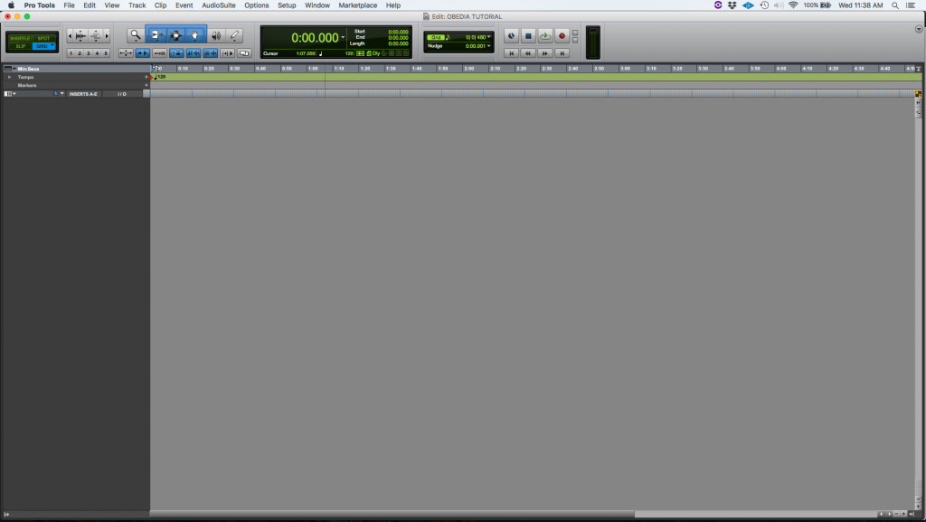 How to create an Audio Track in Pro Tools