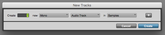 How to create an Aux Input Track in Pro Tools
