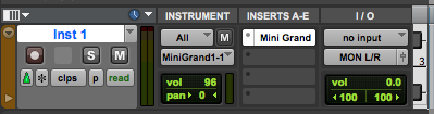How to create an Instrument Track in Pro Tools