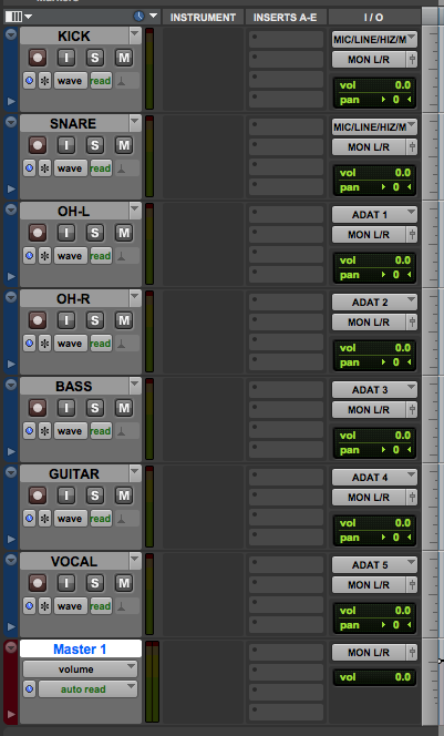 How to create a Master Fader Track in Pro Tools