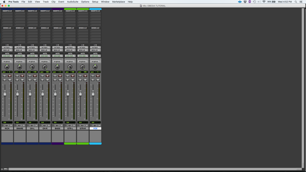 How to add Inserts in Pro Tools