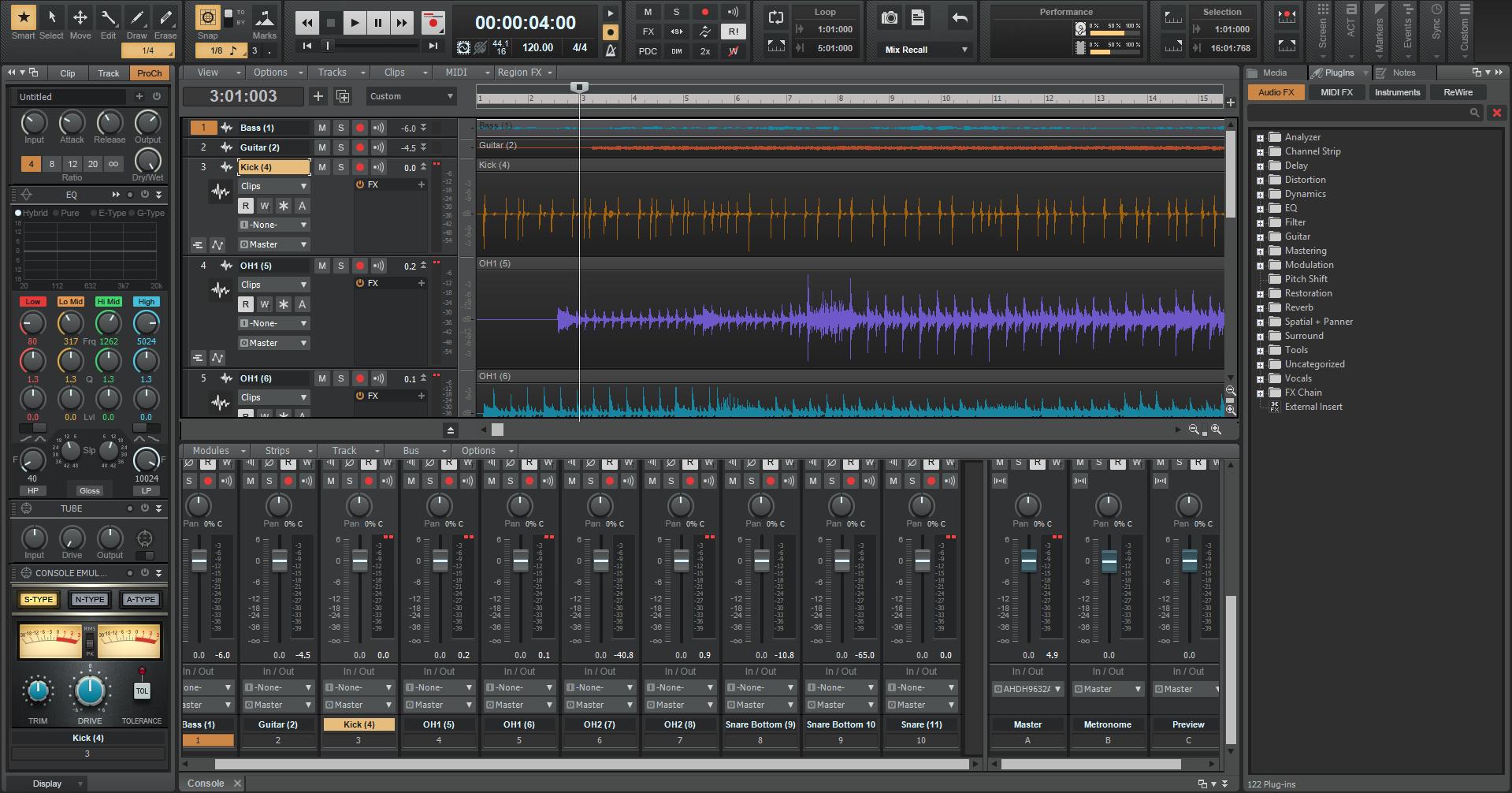 cakewalk by bandlab screenshot - OBEDIA | Music Recording