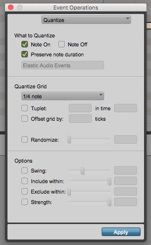 How to quantize MIDI in Pro Tools - OBEDIA | Music Recording