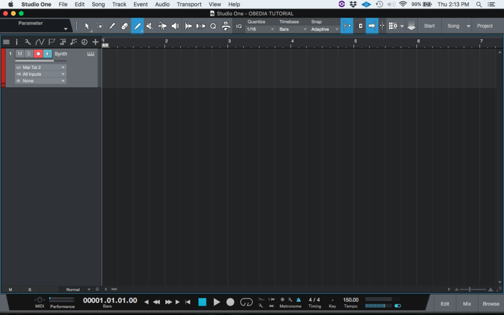 How to create and configure an Instrument Track in Studio One 4