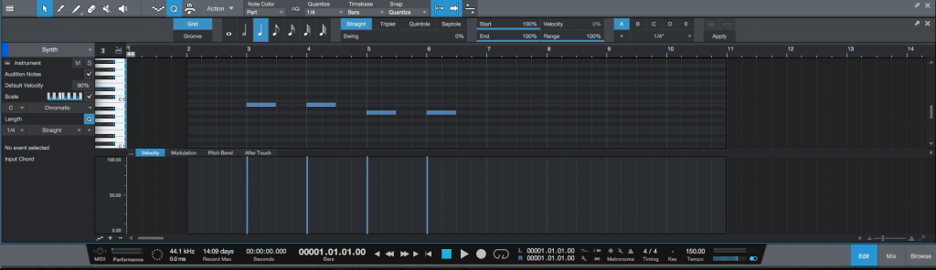How to mute/unmute MIDI events in Studio One 4