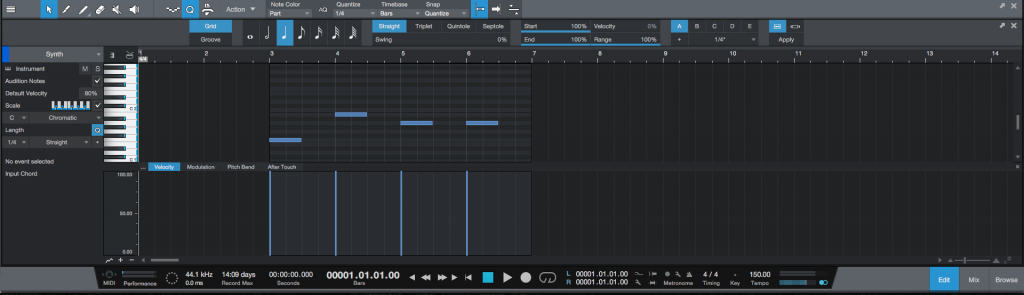 "How to use the ""Extend To Part End"" MIDI function in Studio One 4"