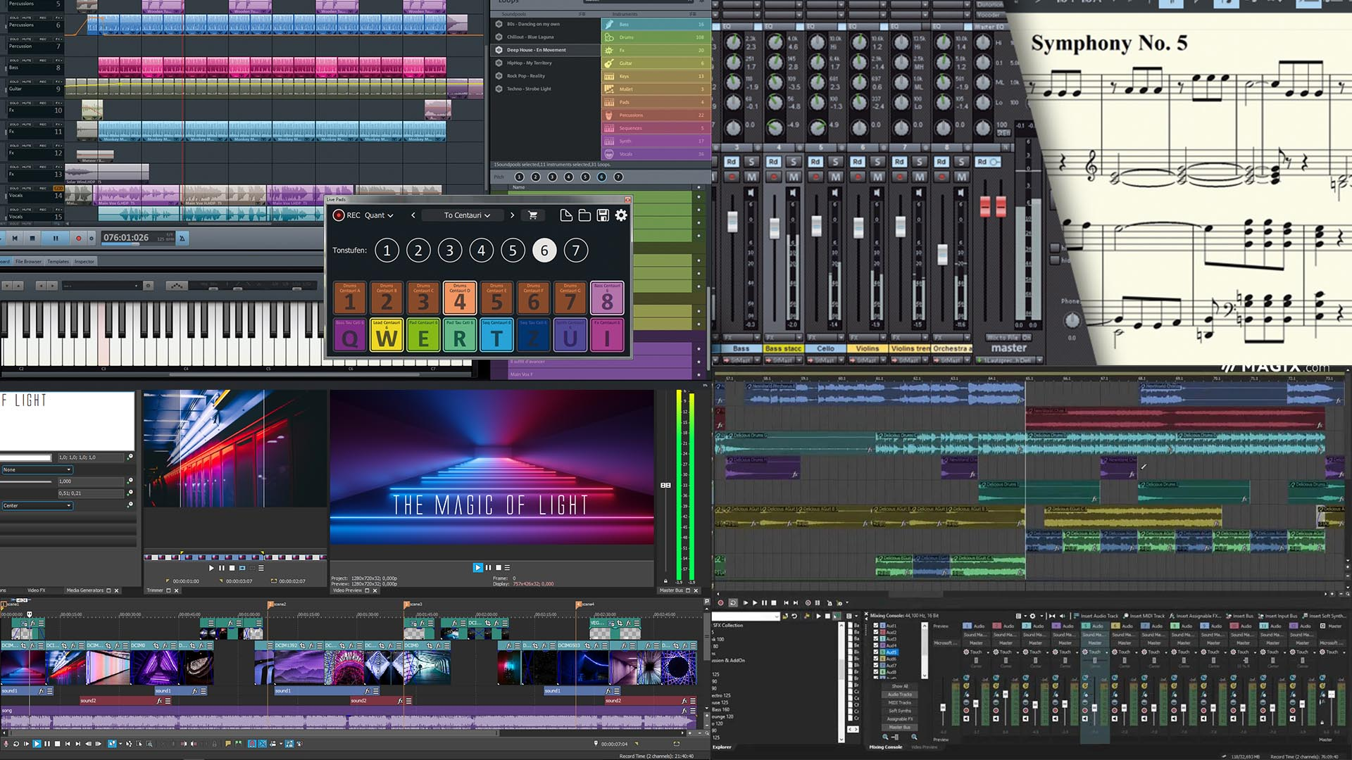 magix-products-background - OBEDIA | Music Recording Software