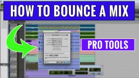 How to Bounce a Mixdown in Pro Tools