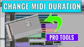 32. How to Edit MIDI Duration in Pro Tools