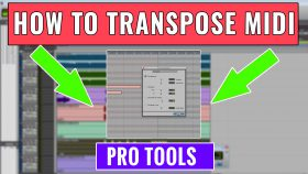 33. How to transpose MIDI in Pro Tools
