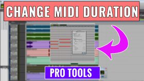 How to Manually Change MIDI Duration in Pro Tools