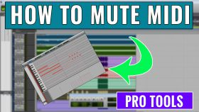How to mute MIDI in Pro Tools