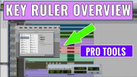 How to use the Pro Tools Key Ruler
