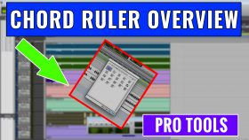 How to use the Pro Tools Chord Ruler