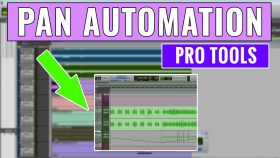 How to use Pro Tools Pan Automation