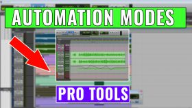 Automation Modes in Pro Tools