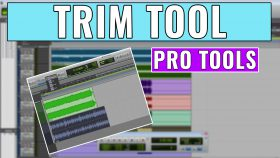 How to use the Trim Tool in Pro Tools